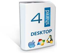 4shared desktop application