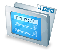Access to 4shared with FTP and SFTP