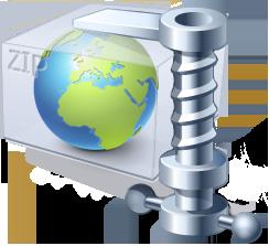 Zip your files online