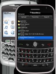 4shared Móvil (Blackberry) - Descargar.