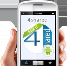4Shared Mp3 para celulares