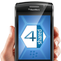 4shared Mobile for BlackBerry