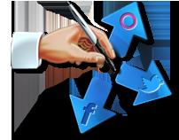 Social file sharing